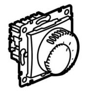 Терморегулятор Legrand Valena для теплого пола белый (Арт.770091)