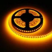 Светодиодная лента 3528 12 V 9.6 W 120 LED (диодов) на 1 м желтая