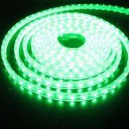Светодиодная лента в силиконе 3528 12 V 9.6 W 120 LED (диодов) на 1 м зеленая