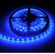 Светодиодная лента 5050 12 V 14.4 W 60 LED (диодов) на 1 м синяя IP20
