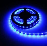 Светодиодная лента в силиконе 5050 12 V 14.4 W 60 LED (диодов) на 1 м синяя IP65