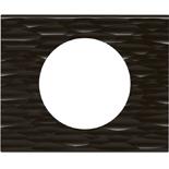 Legrand Celiane2 Рамка на 1 пост, Corian черный рельеф
