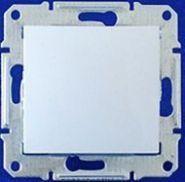 Кнопочный выключатель Sedna (алюминий)