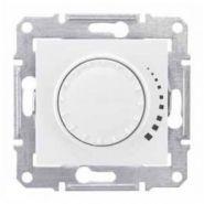 Светорегулятор универсальный 40-600 Вт проходной поворотно-нажимной Sedna (бежевый)