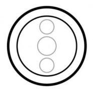 Накладка сенсорного выкл. для управл. рольставнями Legrand Celiane белая(арт.68045)