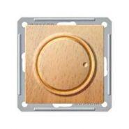 Диммер универсальный поворотно-нажимной (600Вт, бук)