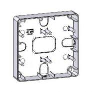 Монтажная коробка для наружной проводки: 2х2 места (белый)