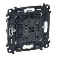 Механизм Светорегулятор кнопочный для балласта 1-10В с нейтралью,винт.зажим
