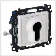 Выключатель поворотный с ключом 2-позиционный, 10А Valena Life, цвет - белый