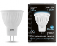 Лампа Gauss LED MR11 3W GU4 4100K FR
